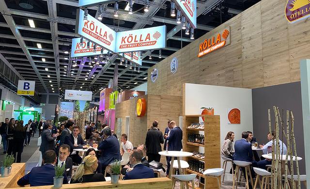 Kölla Stand auf der Fruit Logistica